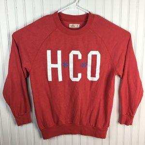 Hollister Crew Neck Sweatshirt HCO Snowflakes XS
